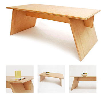 simple plywood coffee table plans